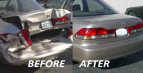 Auto Collision Repair by Pacific Coast Auto Body Shop Auto Body