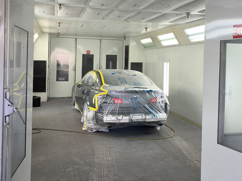 Pacific Coast Auto Body - Paint Booth