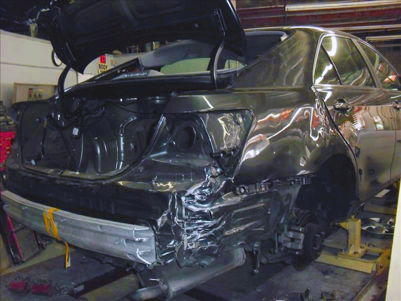 Auto Body Repair on Car